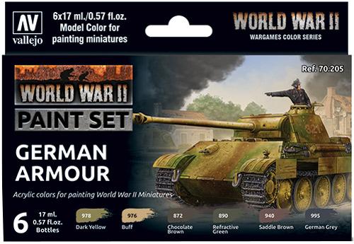 Vallejo Model Color Set: WWII & WWIII - Utility