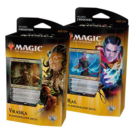Magic Guilds Of Ravnica Set Planeswalker Decks In Stock Bundle Booster Box