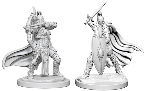 Gnome Female Sorcerer W6 Gnome Female Rogue W6 Pathfinder Battles Deep Cuts Miniatures Bundle