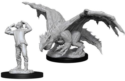 Dungeons /& Dragons Nolzur`s Unpainted Minis W11 Wererat /& Weretiger