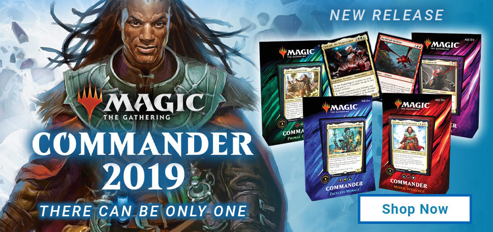 Multiplayer Decks and Products - MTG Sealed - Magic The